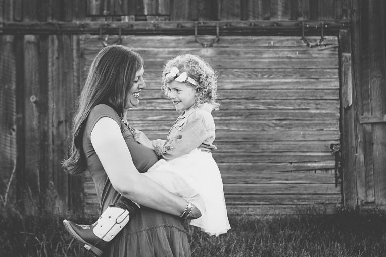 mama and toddler, Ellensburg Maternity Session with Megan & Kyle at Olmstead State Park in Ellensburg WA by Hailey Haberman Lifestyle Family Photographer