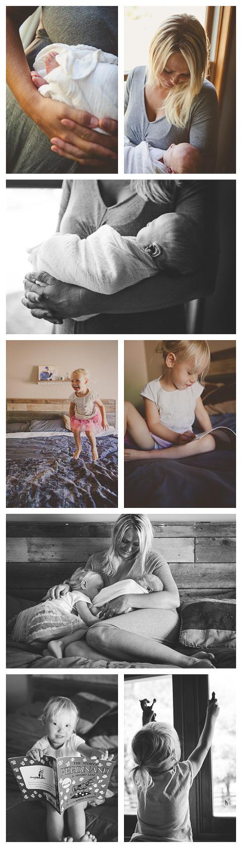 Baby Ryder with Hailey Haberman Ellensburg Lifestyle Newborn Photographer