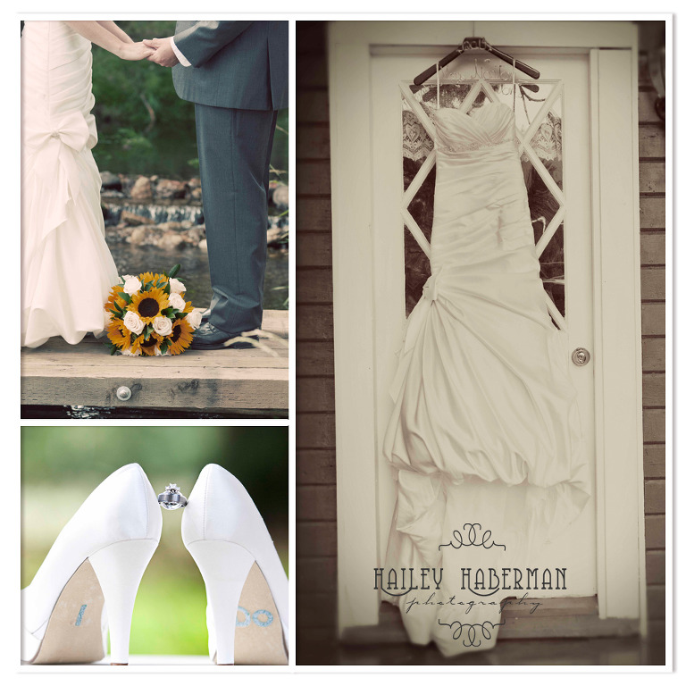 Ritter Farms Cle Elum Wedding details collage