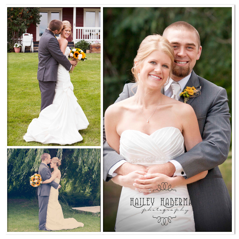 Ritter Farms Cle Elum Wedding portraits of bride and groom