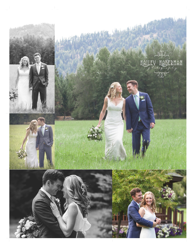 Ritter Farms Artistic Wedding Photos of Bride and Groom in rustic open field