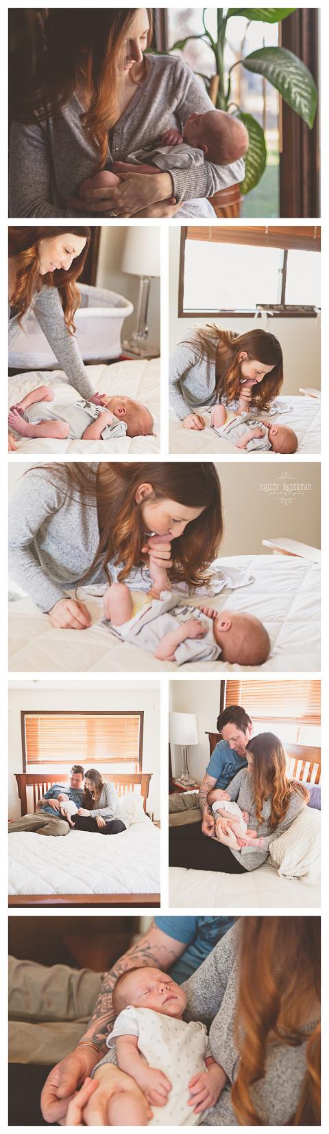 Lifestyle Newborn Baby Wyatt by Hailey Haberman in Ellensburg WA