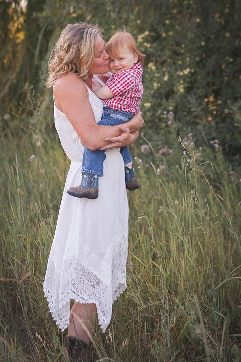 mam kissing baby, Rhett Turns One- lifestyle Family Session by Hailey Haberman in Ellensburg WA