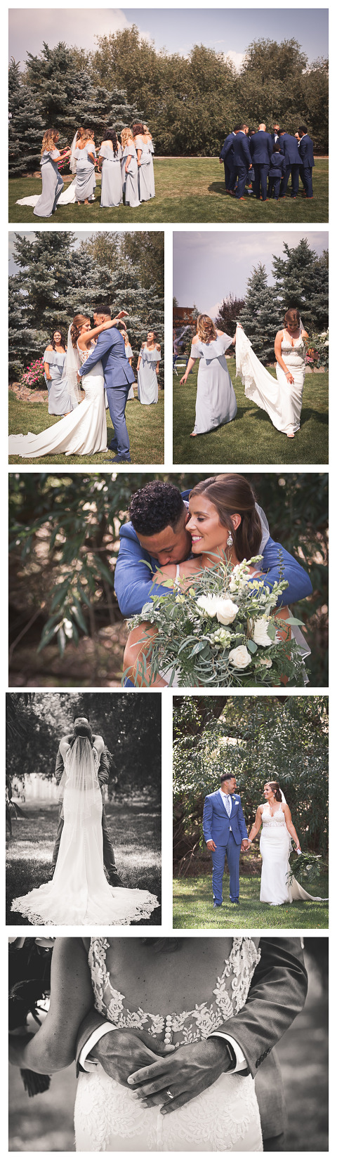 lifestyle wedding portraits, Jerome & Michelle married at McInosh barn in Ellensburg photographed by Hailey Haberman Ellensburg Wedding Photographer
