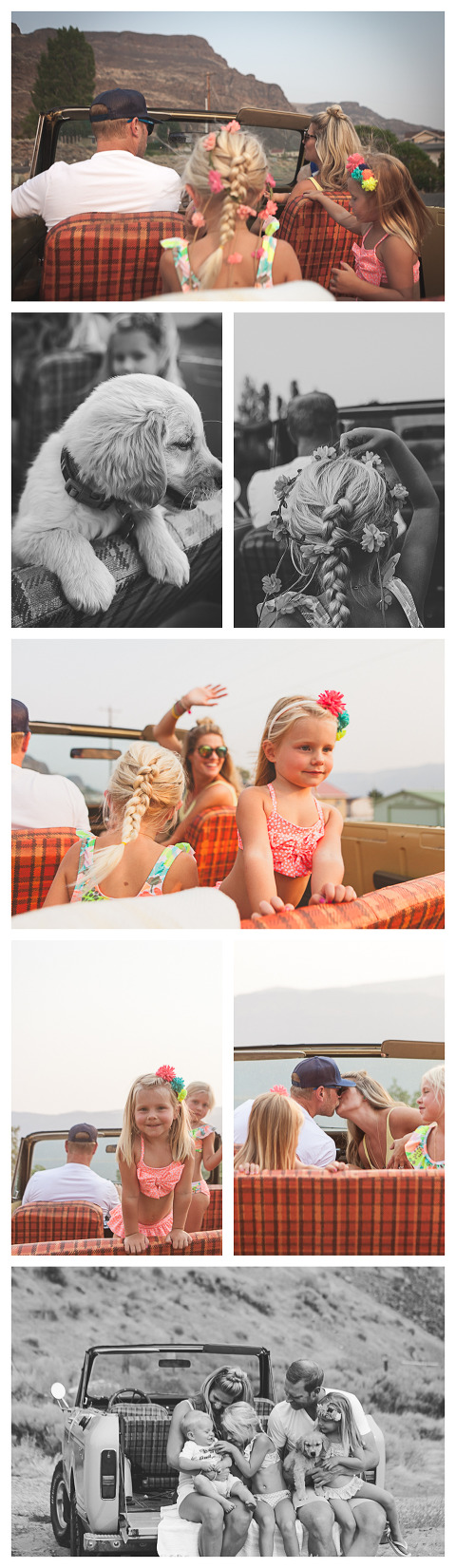 beach session with a scout, Olson Family in Sunland, WA, lifestyle family session by Hailey Haberman