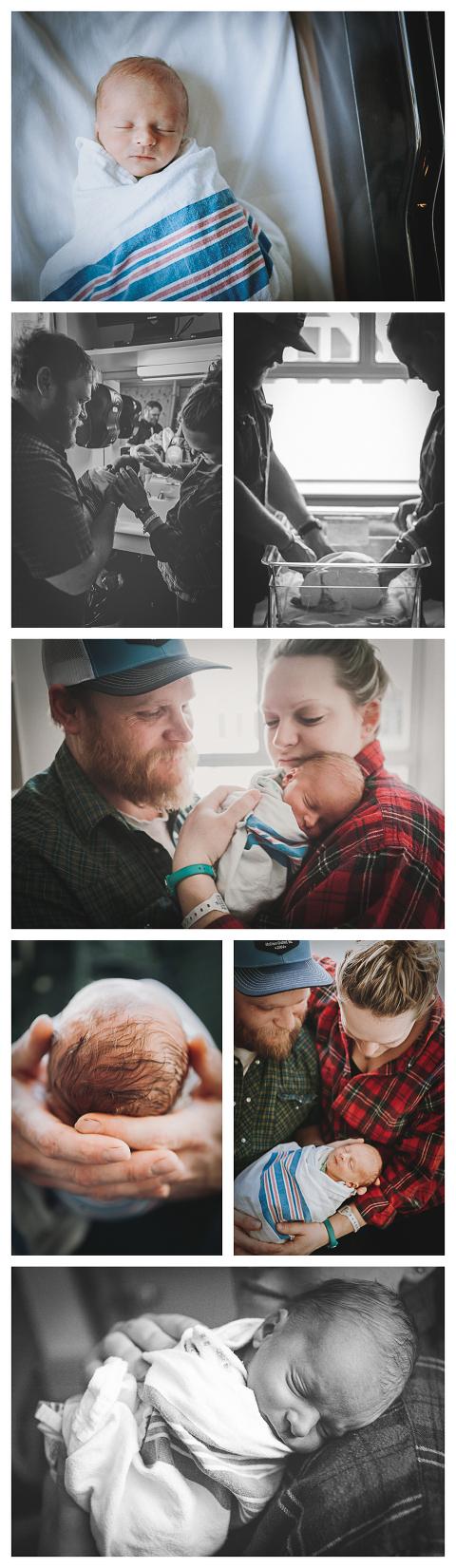 Baby Ripken-lifestyle newborn photography by Hailey Haberman in Ellensburg WA