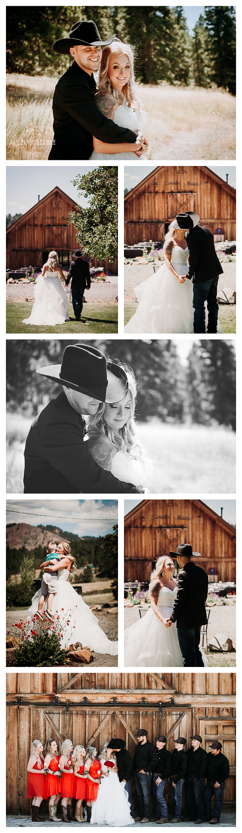 Bride and Groom,Ryan and Amber married at The Cattle barn in Cle Elum, WA, photographed by Hailey Haberman Ellensburg Wedding Photographer