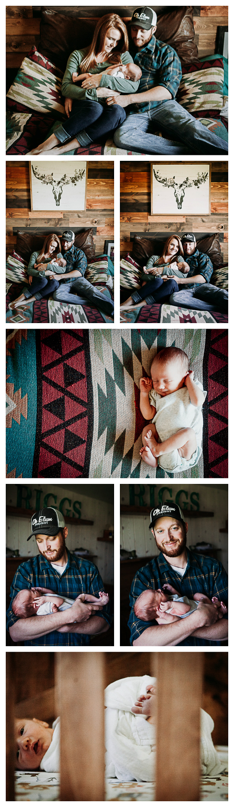 Baby Riggs, lifestyle newborn photography by Hailey Haberman in Ellensburg WA